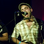 P. Harris and the Sexual Harrisment open for  Silent Theory  Saturday at the Bell Tower in Pullman. They are just one of many area indie bands that the Bell Tower and Stereopathic are  trying to attract to Pullman. Patrick Harris, the groups frontman, contributed a variety of musical stylings including vocals, strings and harmonica.