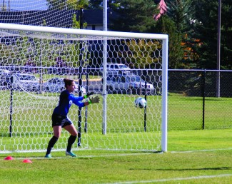 Marina Siegl is one of two Idaho goalkeepers splitting time for the Vandal soccer team this team.