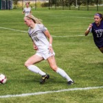 Cy Whitling   Argonaut Sophomore defender Amanda Pease races a TCU defender to the ball in Idaho's 0-2 loss to TCU Aug. 24 at Guy Wicks Field. The Vandals play Northern Colorado Friday at home to start Big Sky play and try for their first win of the season.