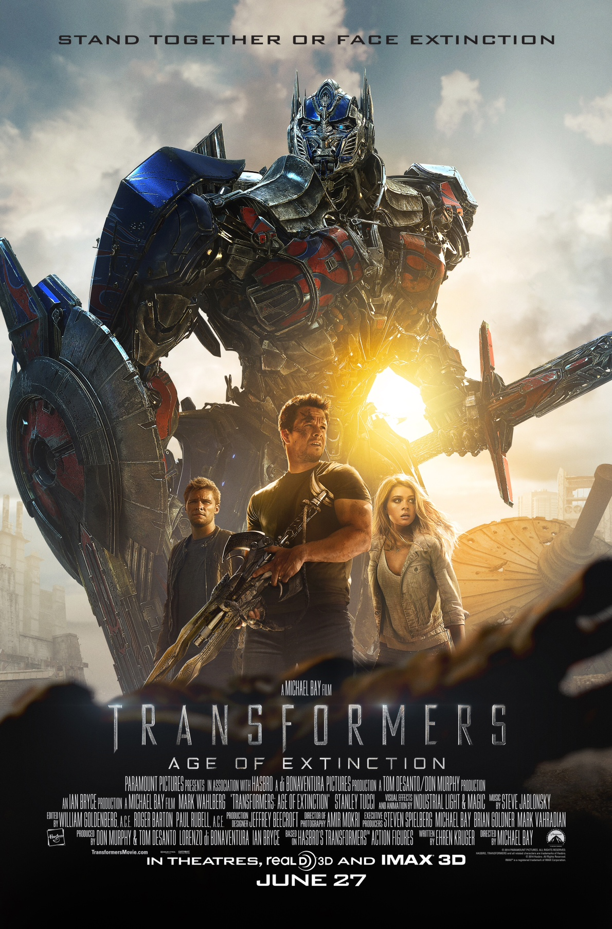 Transformers Age of Extinction 1
