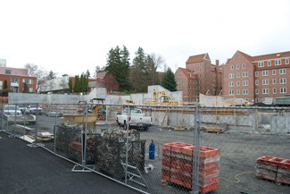 Nate Mattson   Argonaut Construction on the Integrated Research and Innovation Center (IRIC) is projected to be complete by fall of 2016.