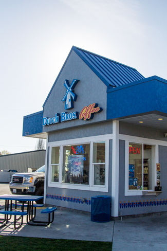 Kira Hunter | Argonaut = Dutch Bros. Coffee, located on Highway 95, was voted Moscow's Best Coffee Shop.