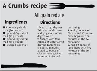 all grain red ale