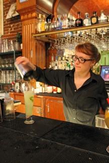 Irish Martos | Argonaut La Casa Lopez bartender, Chloe Miller mixes a 'Virgin Mojito', April 19.