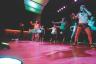 Tess Fox | Argonaut Instructors lead the first dance of the Zumbathon Friday in the International Ballroom of the Bruce Pitman Center.