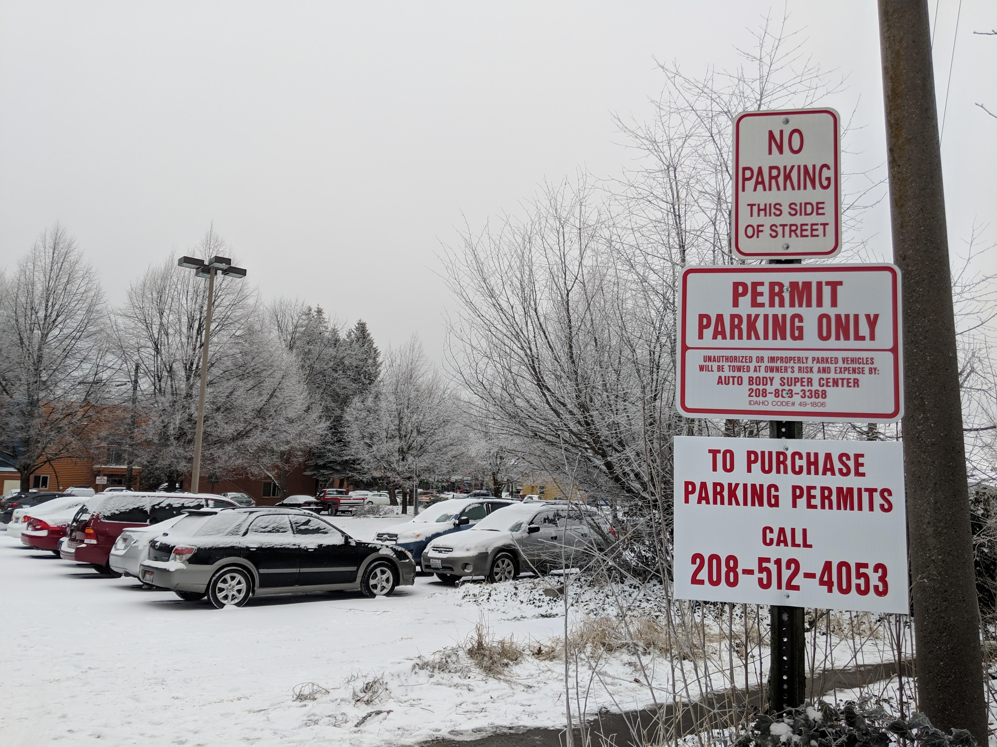 The Argonaut – Parking stalls